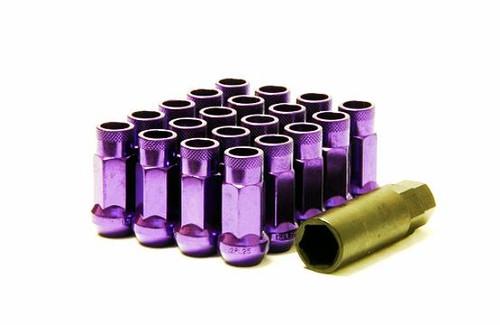 Muteki SR48 Open End Lug Nuts - Purple