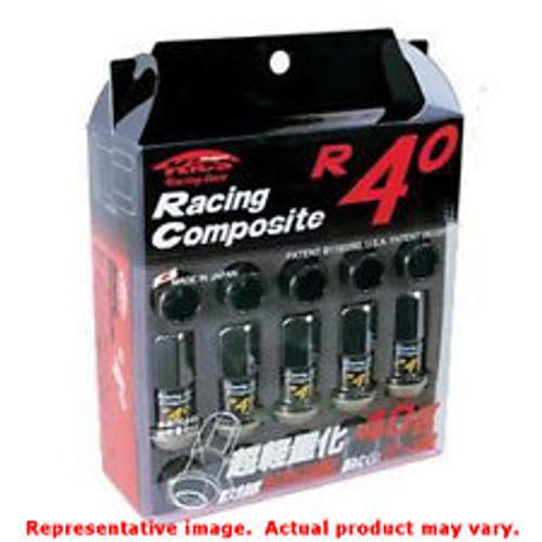 Black R40 Lug Nuts