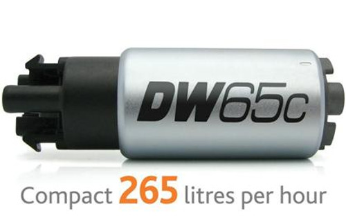 DeatschWerks 265 LPH Compact In-Tank Fuel Pump w/ Set Up Kit 08-15 Mitsu EVO X, 06-13 MazdaSpeed 3/6