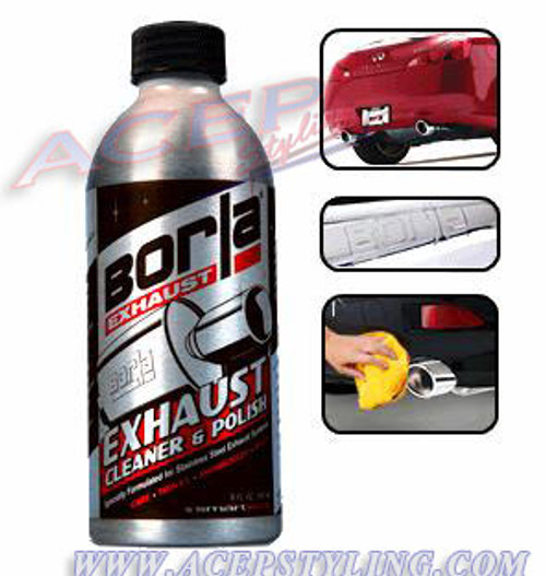 Borla Stainless Steel Exhaust pipe Cleaner & Polish 8 oz