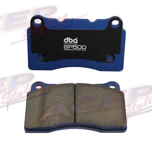 DBA 08-14 Mitsubishi EVO SP500 Rear Brake Pads