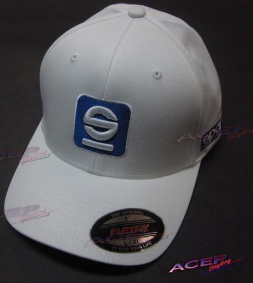 Sparco Cap hat Icon White Lrg/Xlrg (spaSP12B)