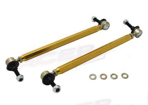 Whiteline Swaybar Link Kit H/Duty Adj Steel Ball