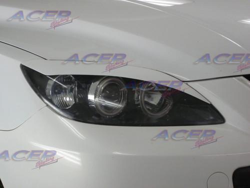 """""""Venom"""" eyelids headlight cover fit 04-09 Mazdaspeed3 Mazda3 (HB)"""