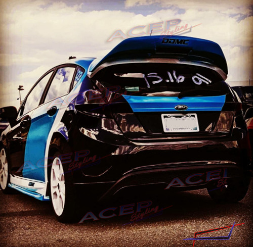 acepstyling Ford Fiesta ST Covid wing spoiler extension
