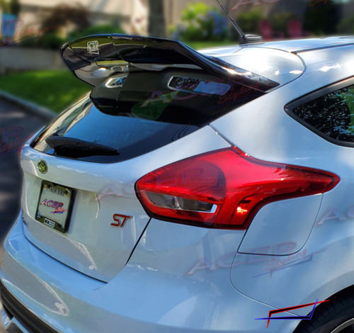 AcepStyling Ford Focus ST WingHammer spoiler extension