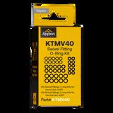 KTMV40 - Valve Core Removal Tool Swivel Fitting O-Ring Kit