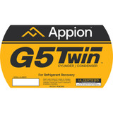 G5Twin Side Label