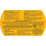G1Single 115v Warning Label