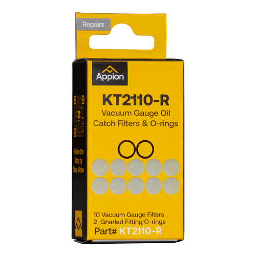 KT2110-R - AV760 Oil Catch Filter & O-Ring Kit