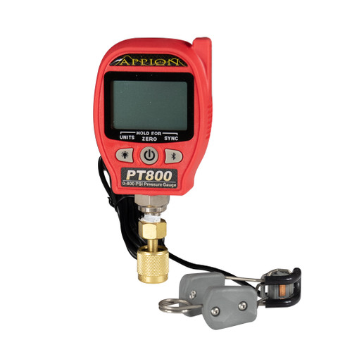 0 to 800 psi Wireless Pressure and Temperature Gauge