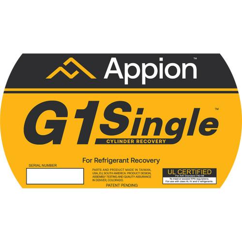 G1Single Side Label
