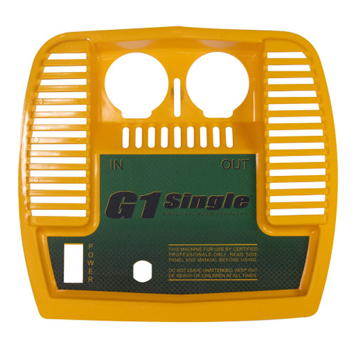 G1Single Faceplate with Labels