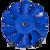 AY0036 - Blue Fan Gearbox Assembly with Fan Blade