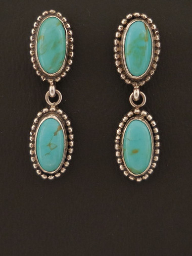 f9a52867c Turquoise Dangle Earrings | Sterling Silver - Free Shipping