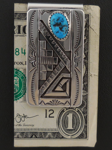 Authentic Navajo Handmade Money Clip