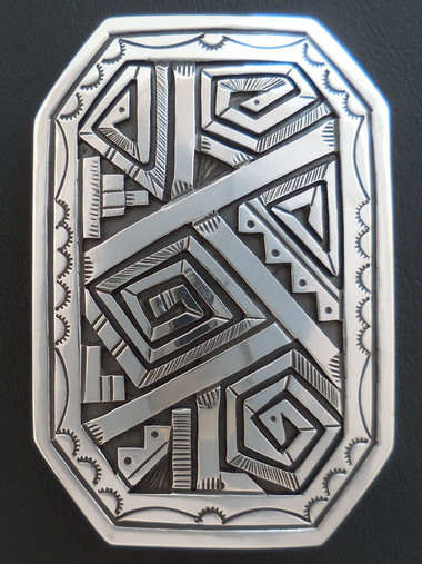 Authentic Navajo Belt Buckle