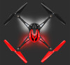Traxxas 6608RR LaTrax Alias Ready-To-Fly Micro Electric Quadcopter Drone (Red)