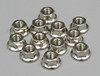 Traxxas 2744 Flanged Nuts, 3mm (12)