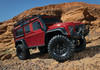 Traxxas 82056-4 TRX-4 1/10 Scale Trail Rock Crawler w/Land Rover Defender Body (Red)