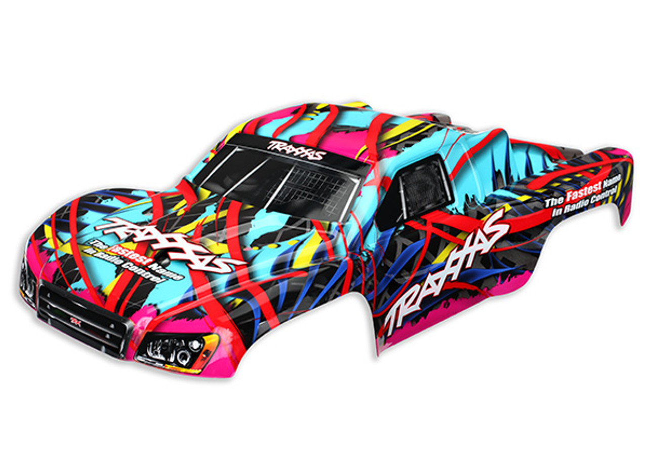 Traxxas 6831 1//10 Short Course Truck Painted Body Chad Hord Slash 4X4