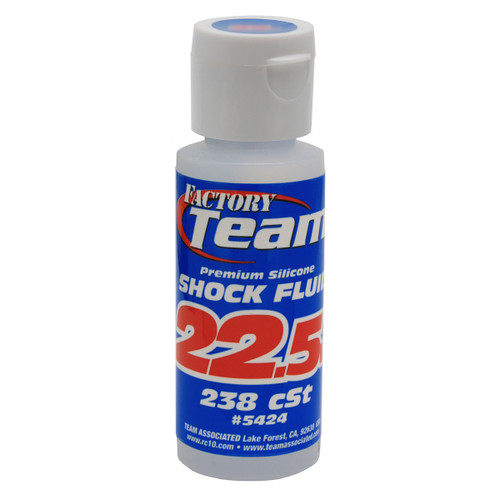 Associated Factory Team Silicone Shock Oil 22.5wt 2oz.