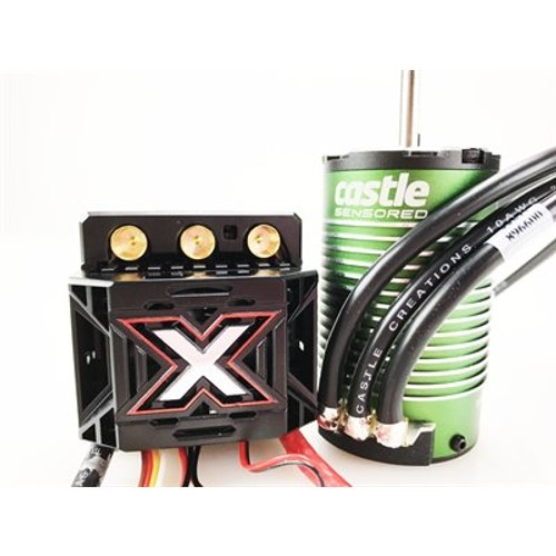 Castle Creations Monster X 1/8 Brushless Combo w/1515 Sensored Motor (2200Kv)