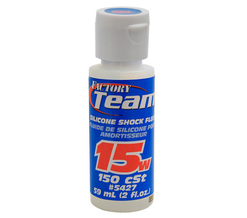 Associated Factory Team Silicone Shock Oil 15wt 2oz.