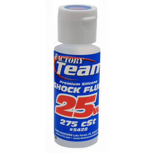 Associated Factory Team Silicone Shock Oil 25Wt 2oz.
