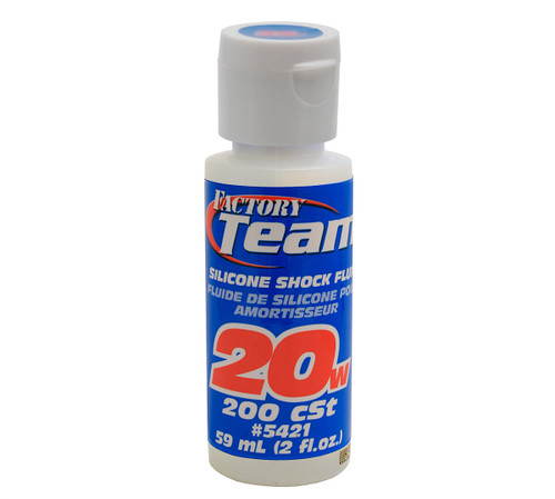 Associated Factory Team Silicone Shock Oil 20wt 2oz.