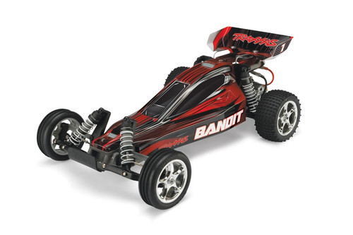 Traxxas 24054-1 Bandit Buggy w/ 2.4ghz Radio RTR Red