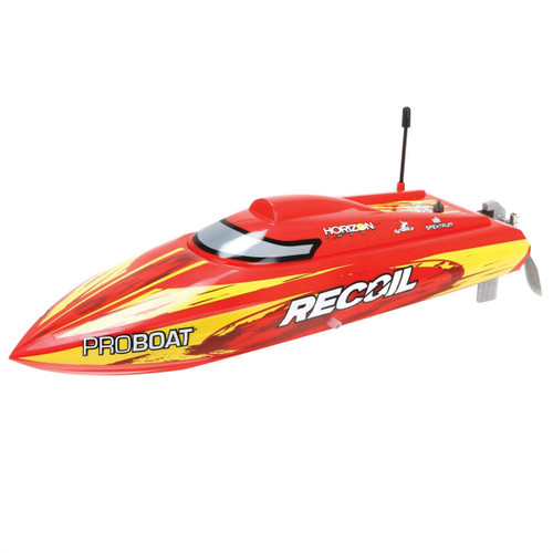 Proboat Recoil 17-inch Self-Righting Deep-V Brushless RTR