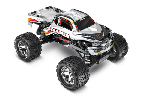 Traxxas 36054-1 Stampede Monster Truck RTR SILVER