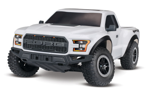 Traxxas 580941T2 2017 2WD Ford Raptor RTR White