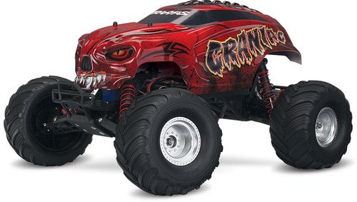 Traxxas 36094-1 Craniac Monster Truck RTR Red