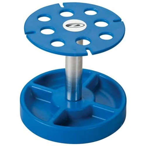Duratrax Pit Tech Deluxe Shock Stand Blue