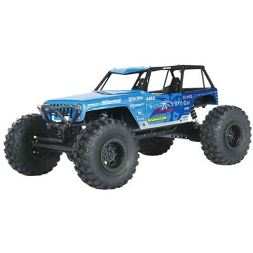 Axial Jeep® Wrangler Wraith-Poison Spyder Rock Racer 1/10th Scale Electric 4WD - RTR