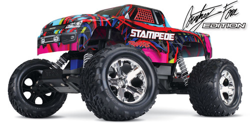 Traxxas 36054-1 Stampede Monster Truck RTR Courtney Force