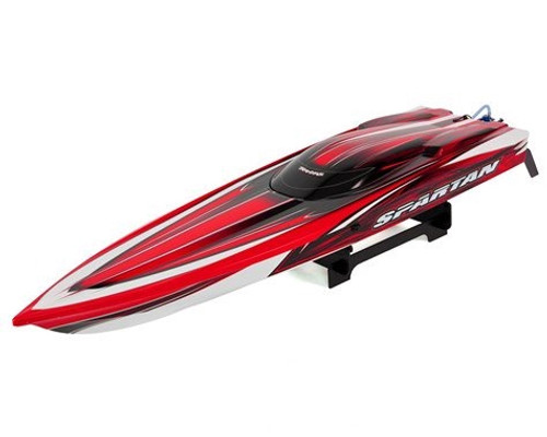 Traxxas 57076-4 Spartan Brushless Race Boat Red