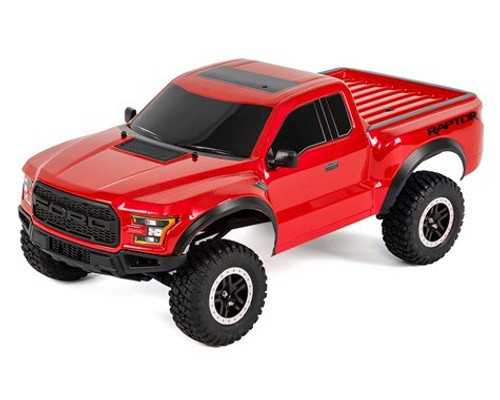 Traxxas 580941T5 2017 Ford Raptor RTR Slash 1/10 2WD Truck (Red) w/TQ 2.4GHz Radio, Battery & DC Charger