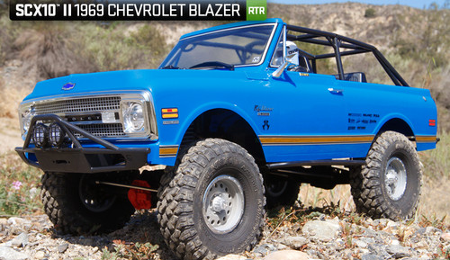 SCX10 II 1969 Chevrolet Blazer RTR 4WD Rock Crawler by Axial