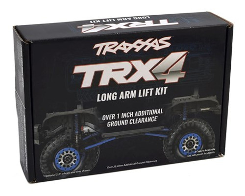 Traxxas 8140R TRX-4 Complete Long Arm Lift Kit (Red)