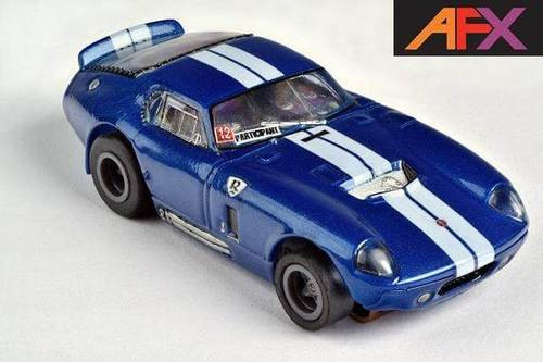 AFX Mega-G+ Shelby Cobra Limited Edition HO Slot Car (AFX22008)