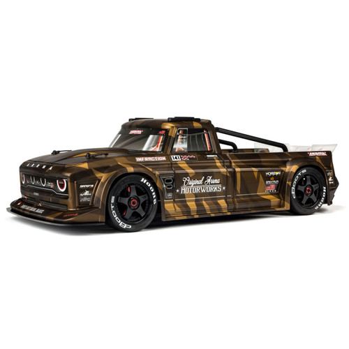 Arrma INFRACTION 1/7 Scale All-Road Street Bash 6S BLX with Spektrum RTR with AVC