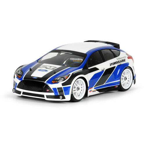 Pro-Line  2012 Ford Focus Clear Rally Body 1/16  3353-00