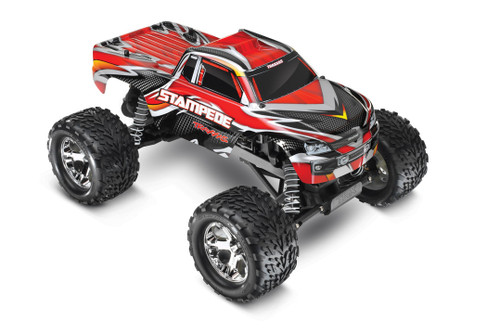 Traxxas 36054-1 Stampede Monster Truck RTR RED