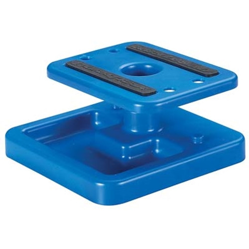 Duratrax Pit Tech Deluxe Mini Car Stand Blue