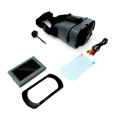 Spektrum FPV 4.3 inch Video Monitor with Headset Combo