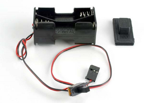 Traxxas 1523  Battery AA Holder w/ On Off Switch