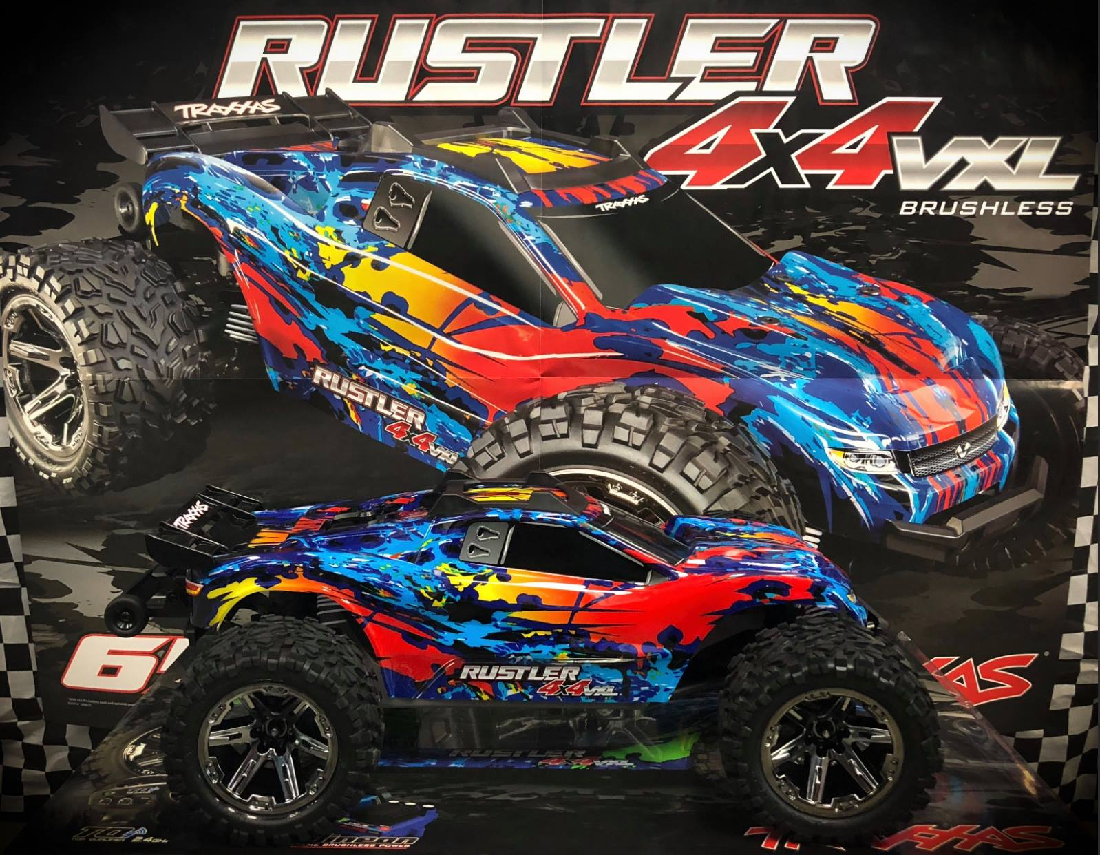 NEW RUSTLER 4X4 VXL DISPLAY IN STOCK!